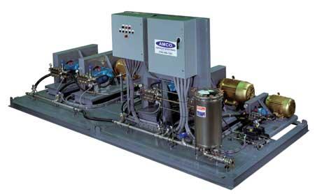 Gas Turbine Inlet Fogging Pump Skid American
